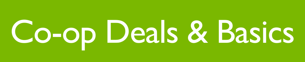 Co-op Deals and Basics Banner